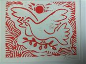 PABLO PICASSO Painting DOVE OF PEACE